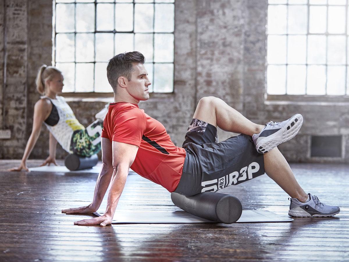 reebok foam roller fitness oprema