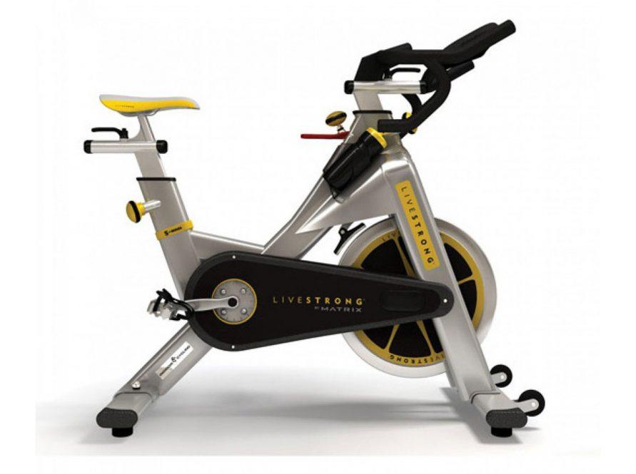 livestrong spinning bike fitness oprema